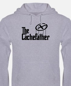 Geocaching THE CACHEFATHER black Hoodie