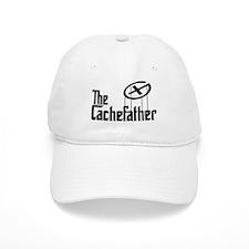 Geocaching THE CACHEFATHER black Baseball Baseball Cap
