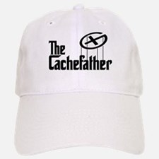 Geocaching THE CACHEFATHER black Baseball Baseball Cap