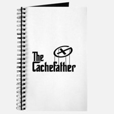Geocaching THE CACHEFATHER black Journal