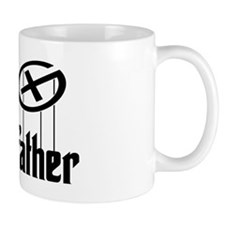Geocaching THE CACHEFATHER black Small Mugs