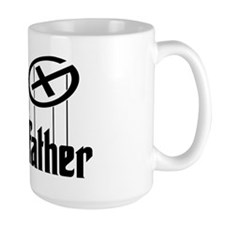 Geocaching THE CACHEFATHER black Mug