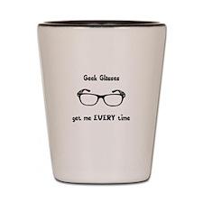 Geek Glasses Shot Glass