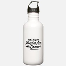 Physician Asst Nobody Corner Water Bottle