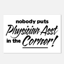 Physician Asst Nobody Corner Postcards (Package of