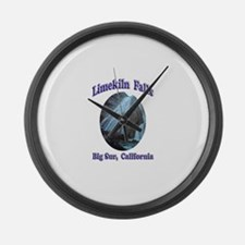 Limekiln Falls Large Wall Clock