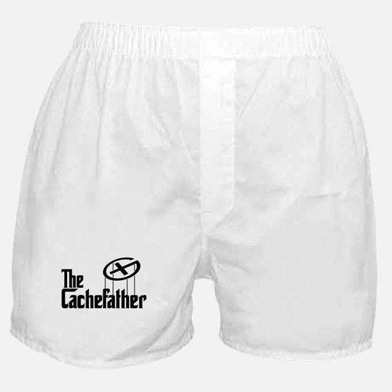 Geocaching THE CACHEFATHER bl Boxer Shorts