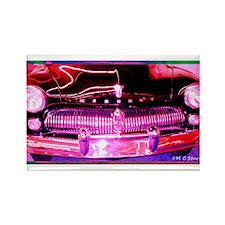 Mercury, Antique, Auto Rectangle Magnet (10 pack)