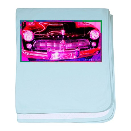 Mercury, Antique, Auto baby blanket
