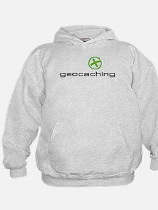 Geocaching Logo green Hoodie