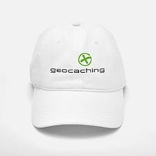 Geocaching Logo green Baseball Baseball Cap