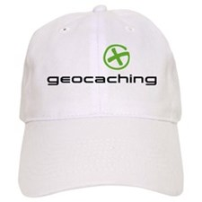 Geocaching Logo green Baseball Cap