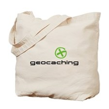 Geocaching Logo green Tote Bag