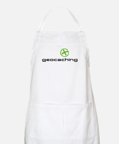 Geocaching Logo green Apron