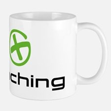 Geocaching Logo green Small Mugs