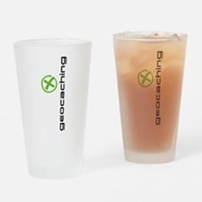 Geocaching Logo green Pint Glass