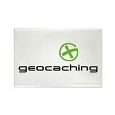 Geocaching Logo green Rectangle Magnet