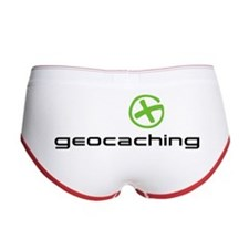 Geocaching Logo green Women's Boy Brief