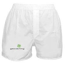 Geocaching Logo green Boxer Shorts
