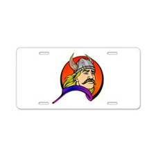 Viking Warrior Aluminum License Plate