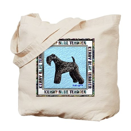 Kerry Blue Terrier Champion Tote Bag