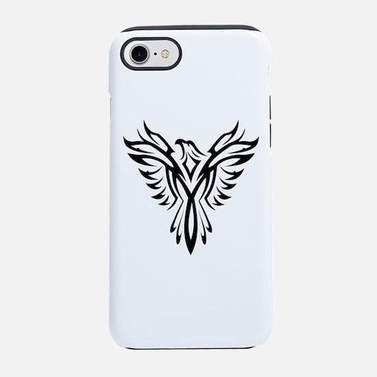 Tribal Phoenix Tattoo Bird iPhone 7 Tough Case