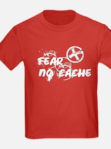 Geocaching NO FEAR Grunge T