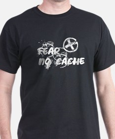 Geocaching NO FEAR Grunge T-Shirt
