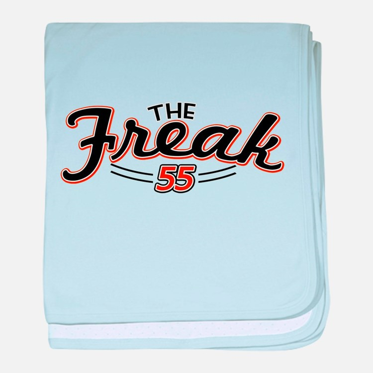 The Freak baby blanket