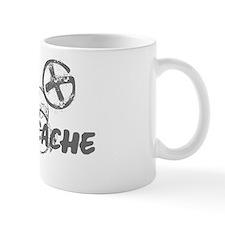 Geocaching NO FEAR gray Grunge Mug