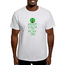 Keep Calm Play On (Guitar) T-Shirt