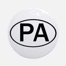 PA OVAL & MORE! Ornament (Round)