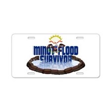 Funny Minot Aluminum License Plate