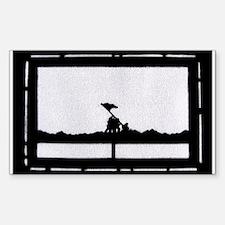 Iwo Jima Sticker (Rectangle 10 pk)