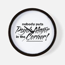 Psych Major Nobody Corner Wall Clock