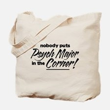Psych Major Nobody Corner Tote Bag