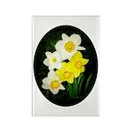 Daffodils Rectangle Magnet