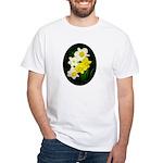 Daffodils White T-Shirt