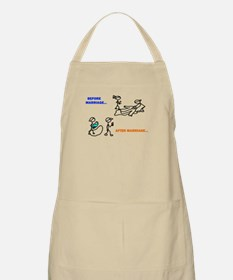 Before & After Marriage Apron
