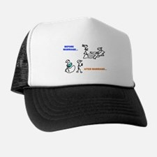 Before & After Marriage Trucker Hat