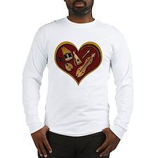 Heart of Music Long Sleeve T-Shirt