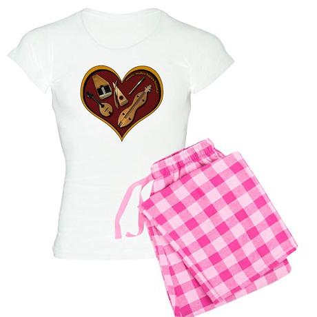 Heart of Music Women's Light Pajamas