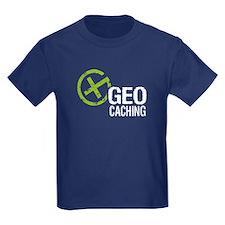 Geocaching Green Grunge T