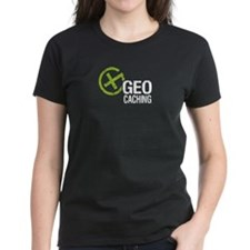 Geocaching Green Grunge Tee