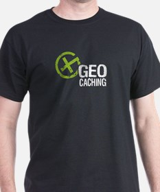Geocaching Green Grunge T-Shirt