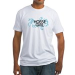 Horse Girl Fitted T-Shirt