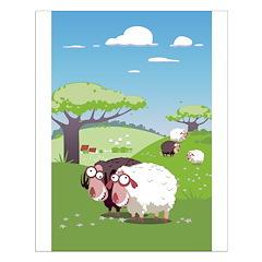 Loony Sheep Art Posters