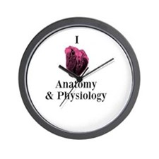 I Love Anatomy & Physiology Wall Clock