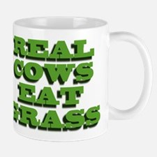 Real Cows Eat Grass Mug