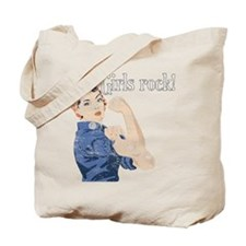 Girls Rock! (vintage) Tote Bag